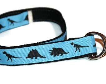 Boys Dinosaur Belt Blue Belt Toddler Belt D Ring