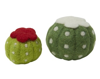 Cactus Wool Toy - Ball