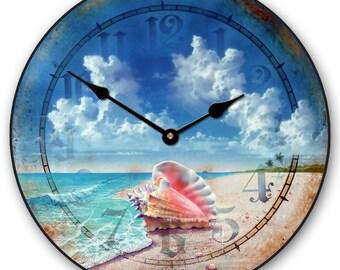 Queen Conch Wall Clock