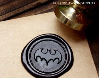 Buy 1 Get 1 Free - 1pcs Bat Gold Plated Wax Seal Stamp (WS124)