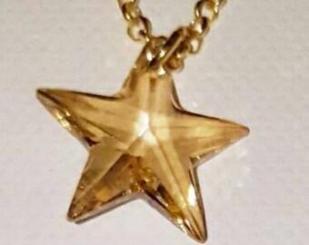 Necklaces, silver necklaces, choker necklaces, star necklaces, Swarovski
