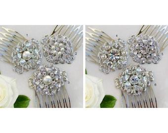 Choose 1,  Small Hair Combs, Bridesmaid Hair clip, Bridesmaids Hair Accessories, Bridesmaids Gifts, Wedding Comb, Bridal Hair Clips
