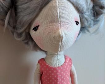 Jessica- handmade doll, ooak doll, art doll, doll