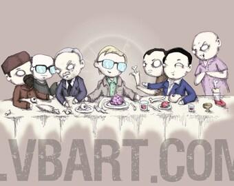 The Last Cannibal Supper Fine Art Print