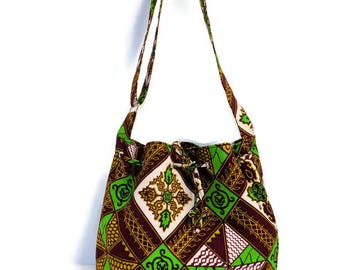 Bucket Bag, African Print Bag, Ankara Bag, Gift for Her, Gifts for Girls, Women Christmas Gift, Girls Gifts, African Clothing, Cross Body