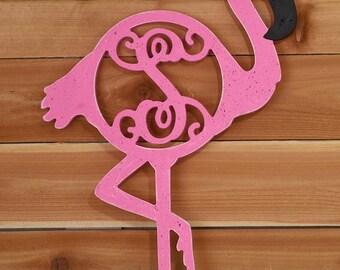 """22.5"""" Flamingo Monogram! Perfect for summer!"""