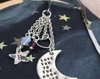 Bookmark – Love You to the Moon and Back Simply Charming Bookmark