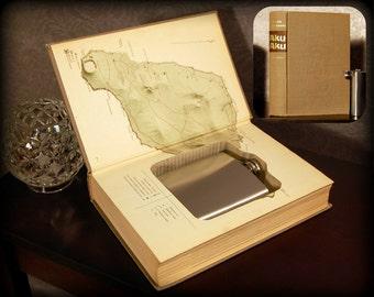 Hollow Book Safe & Flask - Aku-Aku - Secret Book Safe
