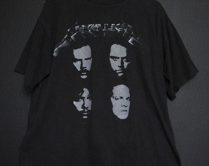 Metallica Black Album tour 1991 Vintage Tshirt