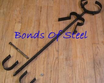 Scavenger's Daughter Restraint Bonds of Steel BDSM Mature