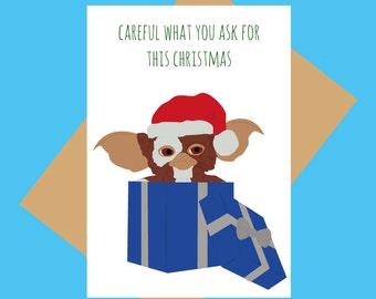 Gremlins - Christmas card - Funny Christmas card