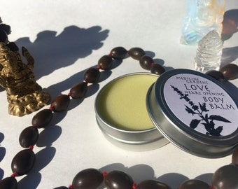 love body balm -- a heart opening all purpose moisturizer