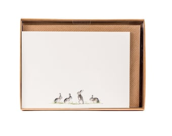 Rabbits Correspondence Postcards