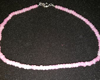 88. Seed Bead Anklet