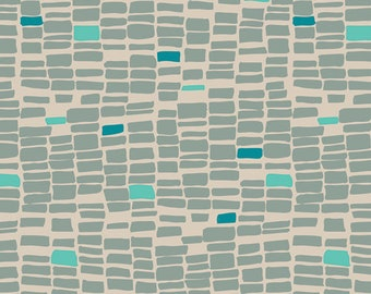 KNIT Coastline Lagoon for Art Gallery Fabrics