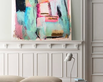 Large Abstract Wall Art, Large, Abstract Painting, Large Wall Art, Modern Wall Art, Large Scale Art, Home Decor, Modern Decor,  Contemporary