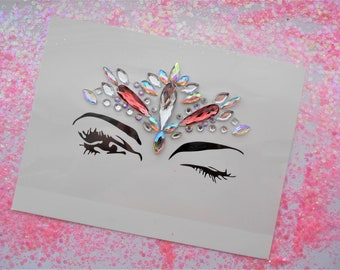 Festival Self-Adhesive Face Jewels BF021