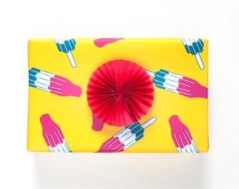 Bomb Pop Gift Wrap