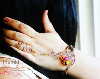 INDIVIDUELLE Divija / / / Slave Armband von Jhumki Luxe - Designs von Regentropfen