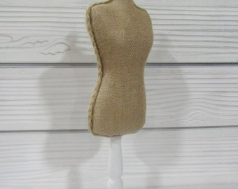 Linen Burlap Body Form