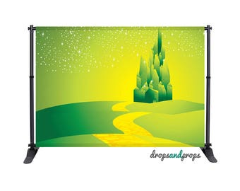 Wizard of Oz - Photography Backdrop