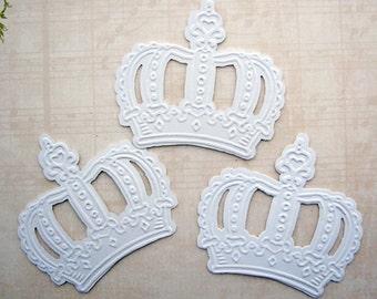Chipboard Crown Die Cut Set