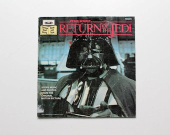 Star Wars Return of the Jedi Read Along Book 1983
