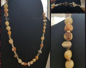 Golden Jade Necklace