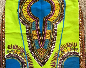 Summer Fling Dashiki Pencil Skirt