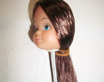 Barbie Doll Style Head on a Stick