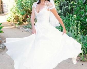 Designer Full Circle Bridal Skirt