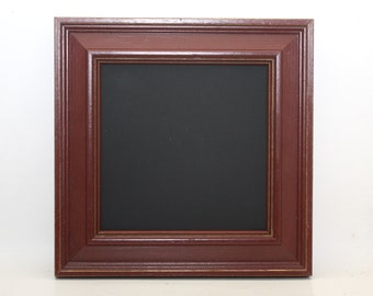 Small Framed Chalk Board Red Shabby Photo Prop Wedding