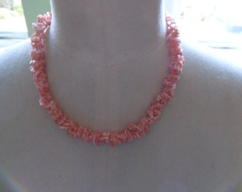 Vintage Coral Necklace REDUCED PRICE