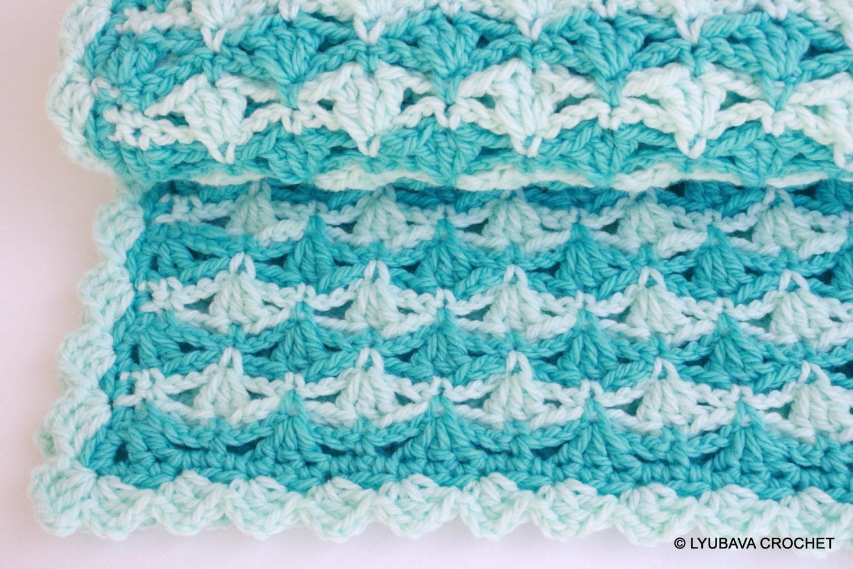 Crochet Baby Blanket Pattern Super Chunky Blanket Crochet