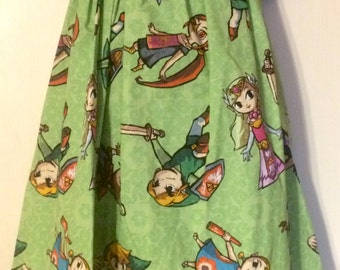 Legend of Zelda Dress (size 6-12 months)