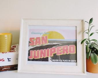 Greetings From San Junipero