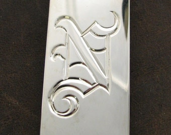 Hand Engraved Money Clip Made to Order