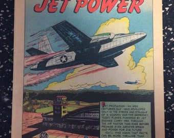 Adventures In Jet Power Comic by General Electric