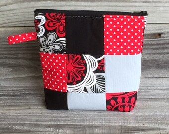 Becca Bag, Zippered Bag, Cosmetic Bag, Bag