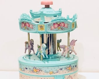 Carousel jewelry box Etsy