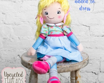 Baby Doll, Personalized Baby Doll, Dolls, Gift for Little Girl, Girl Birthday, Rag Doll, Personalized Doll, Gift For Baby
