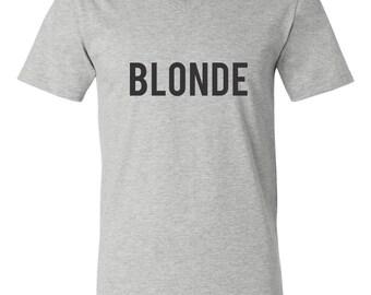 Blonde Style Soft Slub Tee, V-Neck Tee, Crew Tee, Weekend Tee, Weekend Wear