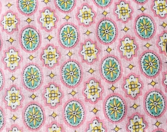 Antique 1920 FABRIC Novelty Fabric - Light Weight Cotton