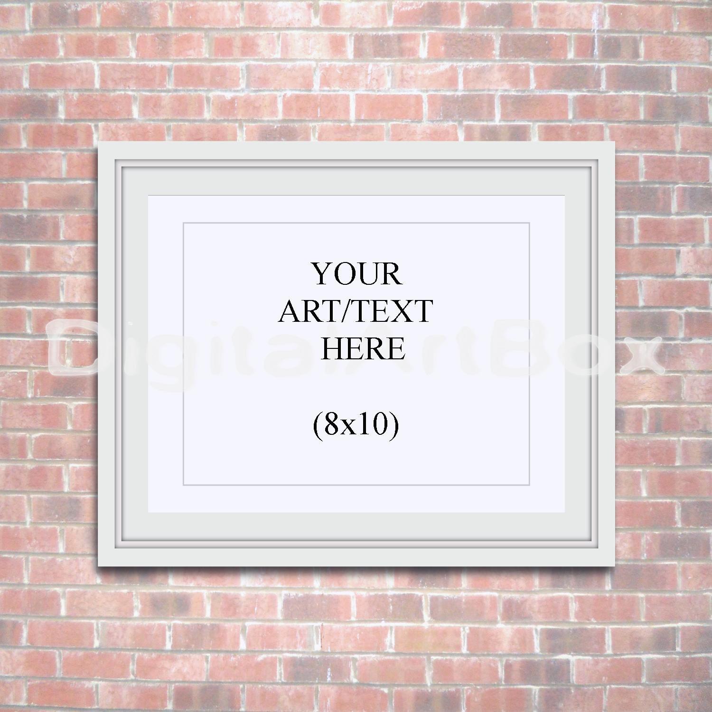 Marco para cartel 8 x 10, 16 x 20 Horizontal blanco marco 24 x 30 ...