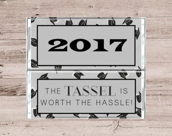 Graduation Candy Bar Wrapper-Personalized Chocolate Bar Wrapper-Class of 2017 Candy Bar Wrapper-Graduation Chocolate Bar Wrapper-Custom