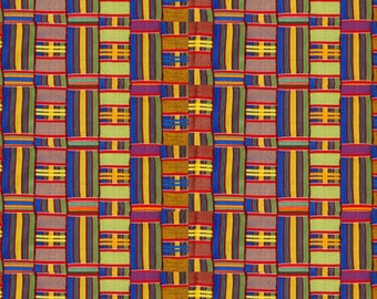 "4 Pack Of Smaller Scale 6""x6"" Pieces - Kali Kente Cloth Premium Patterned Vinyl Vibrant Vinyl™ - Adhesive Vinyl + HTV, Kente Vinyl"