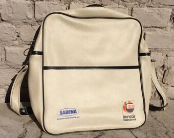 Vintage Sabena TransAir handbag