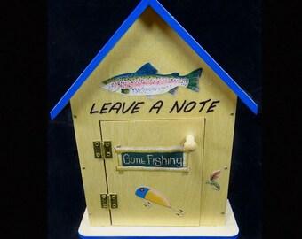 Fish Lv A Note Manual Answering Machine Fishing