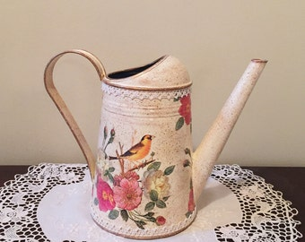 Metal Watering Can, Decorative Watering Can -  CANARY