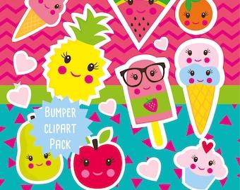 Tutti Frutti clipart commercial use, Tutti Frutti  clipart vector graphics, Tutti Frutti  digital clip art, Tutti Frutti  images - CLIP003